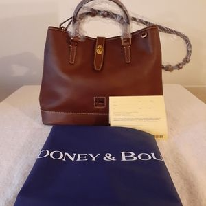 DOONEY AND BOURKE PERRY SATCHEL FLORENTINE/CHEST